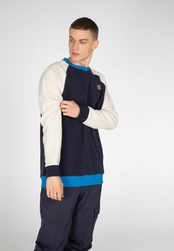 Protest - Stickad tröja - space blue