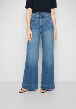 Frame Denim - LE HARDY WIDE LEG - Straight leg jeans - oceanside