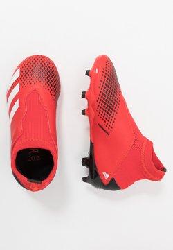 adidas Performance - PREDATOR 20.3 LL FG - Botas de fútbol con tacos - active red/footwear white/core black