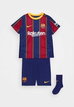 Nike Performance - FC BARCELONA SET - Pantalón corto de deporte - deep royal blue/varsity