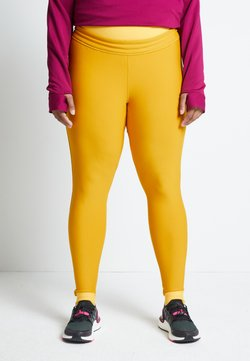 adidas Performance - ASK C.RDY - Tights - yellow
