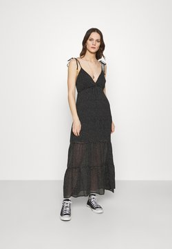 Abercrombie & Fitch - LOVE STRUCK DRESS - Maxikleid - black