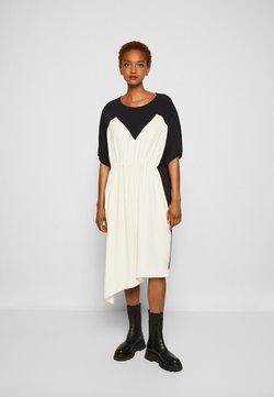 MM6 Maison Margiela - DRESS - Juhlamekko - black/off white