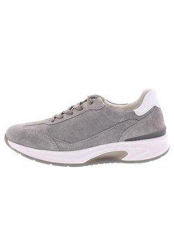 Gabor Comfort - ROLLINGSOFT - Sneaker low - grau/weiss