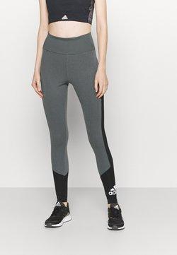 adidas Performance - Tights - grey/black/white