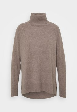 Whistles - ROLL NECK  - Jumper - oatmeal