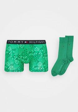 Tommy Hilfiger - TRUNK SOCK SET - Shorty - green