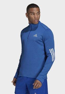 adidas Performance - Maglietta a manica lunga - blue