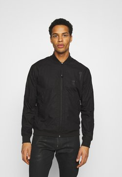 G-Star - BASEBALL ZIP THROUGH  - Giubbotto Bomber - dark black