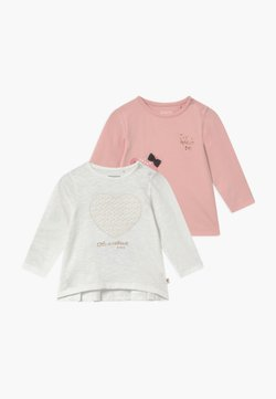 Staccato - 2 PACK - Longsleeve - off-white/light pink