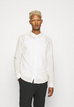 Newport Bay Sailing Club - LEINEN MIX - Businesshemd - off white