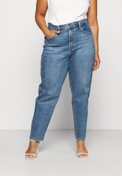 Levi's® Plus - HIGH WAISTED MOM - Jeans relaxed fit - blue denim