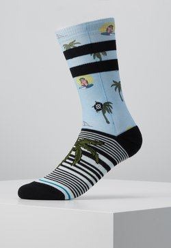 Stance - ALOHA MONKEY - Socken - lightblue
