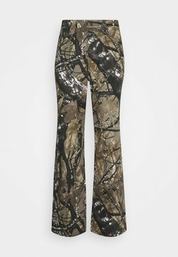 Jaded London - SKATE  - Jeans Relaxed Fit - camo