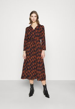 JDY - JDYMILLIAN MID CALF DRESS - Maxi-jurk - arabian spice/sky captain