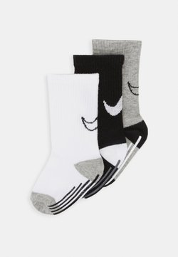 Nike Sportswear - TRACK GRIPPER 3 PACK - Calcetines - dark grey heather