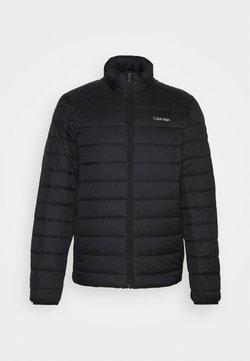 Calvin Klein - ESSENTIAL SIDE LOGO JACKET - Winterjacke - black