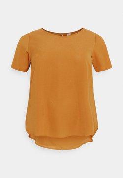 ONLY Carmakoma - CARLUXMILA SOLID - T-Shirt basic - glazed ginger