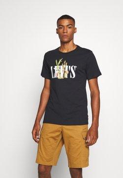 Levi's® - GRAPHIC CREWNECK TEE - T-shirt imprimé - black