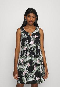 Vero Moda - VMSIMPLY EASY SHORT DRESS - Vapaa-ajan mekko - black