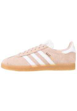 adidas Originals - GAZELLE - Sneaker low - ash pearl/footwear white