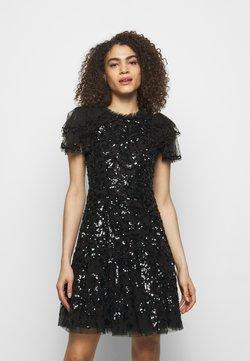 Needle & Thread - SHIRLEY RIBBON MINI DRESS - Cocktailkleid/festliches Kleid - ballet black