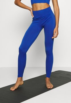 South Beach - PLAIN LEGGING CUT SEW - Medias - cobalt