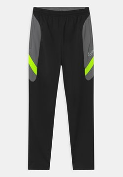 Nike Performance - DRY ACADEMY - Jogginghose - black/dark smoke grey/volt/light smoke grey
