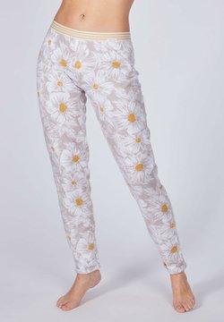 Skiny - Nachtwäsche Hose - silver daisy