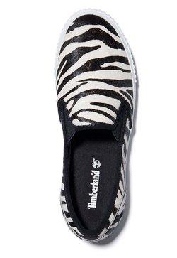 Timberland - Slipper - black and white zebra