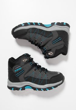 Hi-Tec - SHIELD WP - Hikingschuh - dark grey/black/lake blue