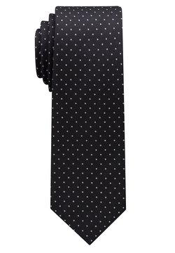 Eterna - Krawatte - schwarz/silbergrau