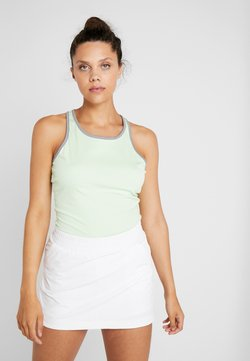 adidas Performance - CLUB TANK - Funktionsshirt - glow green