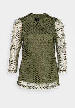 Vero Moda Tall - VMJUANA - Blouse - deep lichen green
