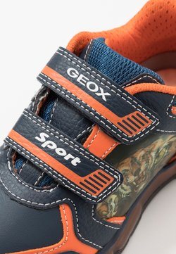 Geox - BOY - Sneaker low - navy/orange