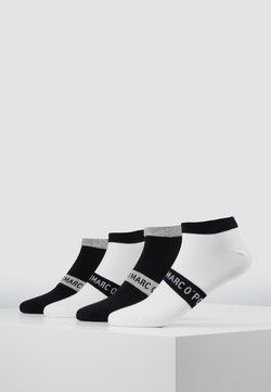 Marc O'Polo - M-SNEAKER 4-PACK - Socken - black - white