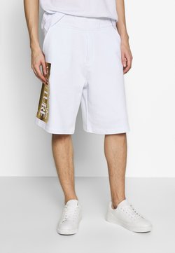 Versace Jeans Couture - LOGO - Jogginghose - white/gold