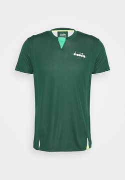 Diadora - EASY TENNIS - T-Shirt print - green bistro
