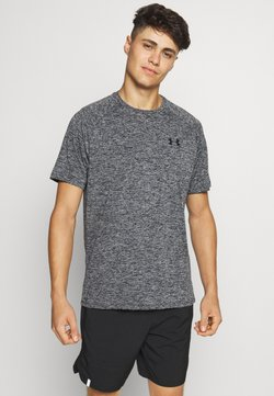 Under Armour - TECH TEE - T-Shirt basic - black