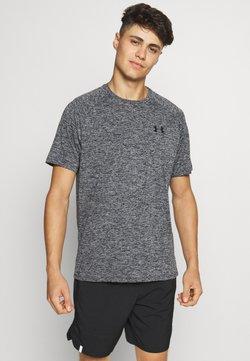 Under Armour - TECH TEE - T-Shirt basic - black