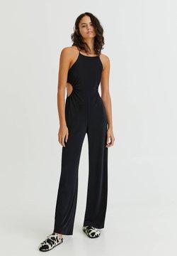 PULL&BEAR - Jumpsuit - mottled black