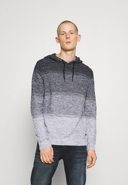 Jack & Jones - JJSILVERADO HOOD - Strickpullover - white