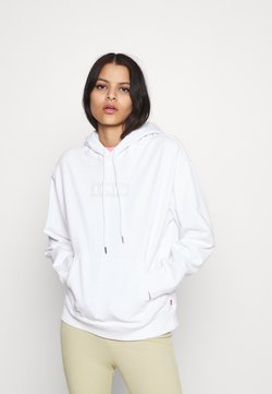 Levi's® - GRAPHIC HOOD - Sweater - white