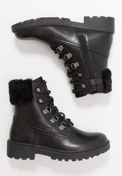 Geox - CASEY GIRL WPF - Schnürstiefelette - black