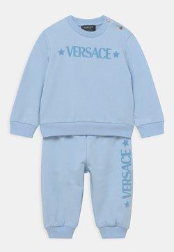Versace - SET UNISEX - Chándal - baby blue/bianco