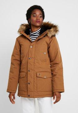 Carhartt WIP - TRAPPER - Wintermantel - hamilton brown/black
