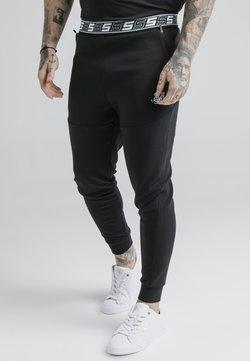 SIKSILK - EXHIBIT FUNCTION PANTS - Jogginghose - black