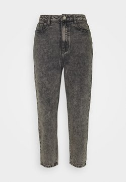 Missguided Petite - RIOT MOM - Jean droit - grey