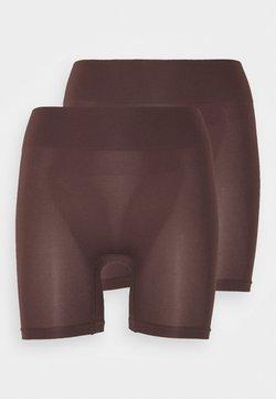 Anna Field - 2 Pack HW seamless short - Shapewear - brown