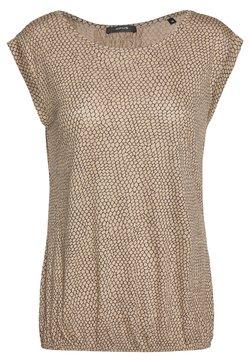 Opus - STROLCHI REPTILE - T-Shirt print - creamy camel